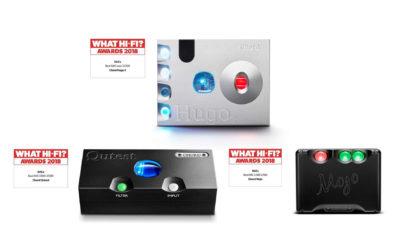 Chord Electronics z trzema nagrodami What Hi-Fi